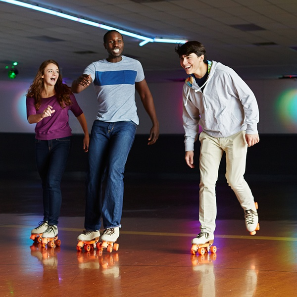 Roller skating at Roller World